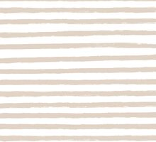 French Tan / Taupe Painted Stripe Pattern by phantomprint