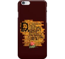 Martin Luther King, Jr. Day  iPhone Case/Skin