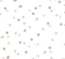 Chic Pastel Dot & Spot Pattern by phantomprint