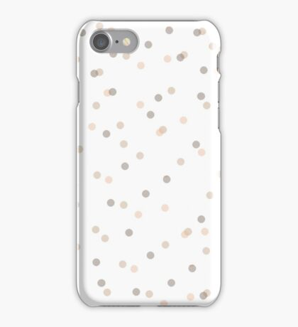 Chic Pastel Dot & Spot Pattern iPhone Case/Skin