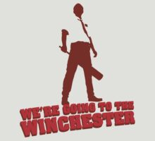 We're Going To The Winchester (Color Print) by GritFX