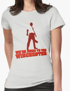 We're Going To The Winchester (Color Print) Womens Fitted T-Shirt