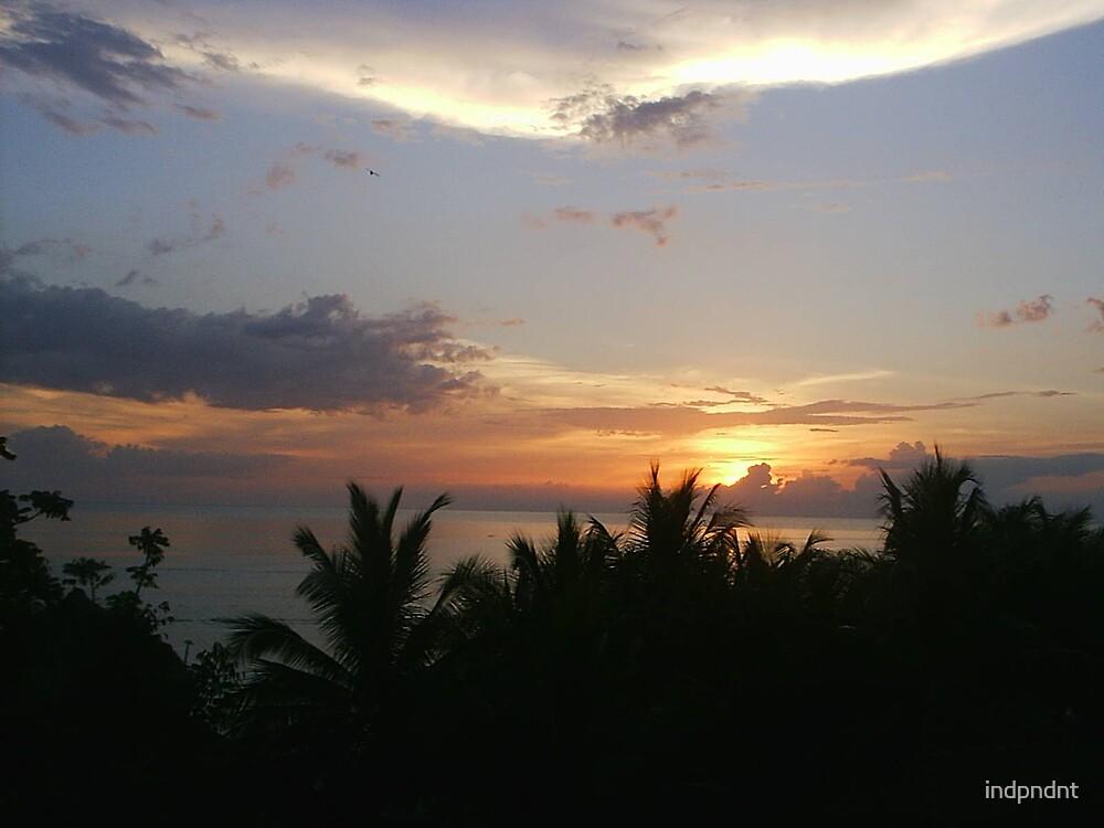 sunset in Montego Bay Jamaica by indpndnt