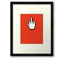 Web Finger Framed Print