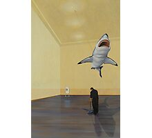 White Shark II (Shadow) Photographic Print
