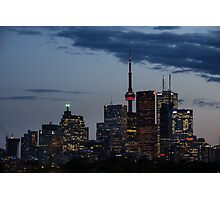 Toronto Skyline at Dusk Photographic Print