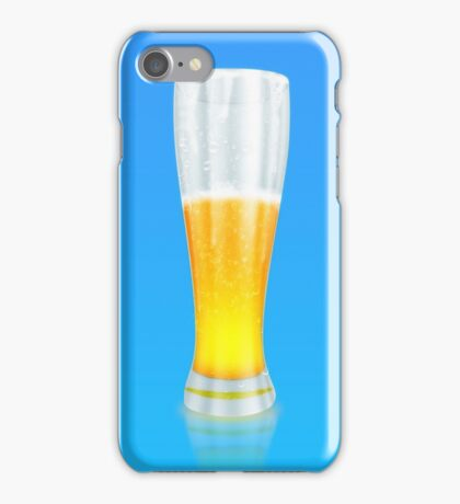 Glass of beer 3 iPhone Case/Skin