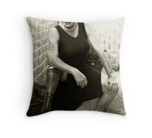 Portrait of Peggy Sue Throw Pillow