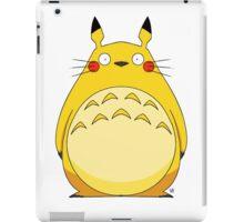 Totoro Pikachu iPad Case/Skin