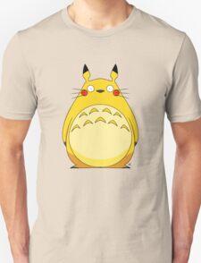 Totoro Pikachu Unisex T-Shirt