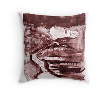 The Falls of Ennistymon Throw Pillow