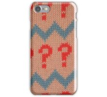 Dr Who? iPhone Case/Skin