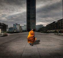 A Monk in Montparnasse by Laurent Hunziker