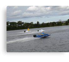 Racing on the Manning River Taree Australia Canvas Print