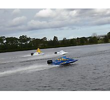 Racing on the Manning River Taree Australia Photographic Print