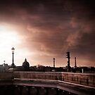 Paris in the wind by Laurent Hunziker