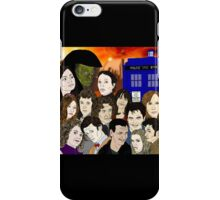 A time lords family iPhone Case/Skin