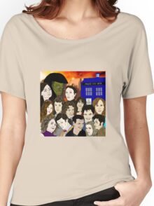 A time lords family Women's Relaxed Fit T-Shirt
