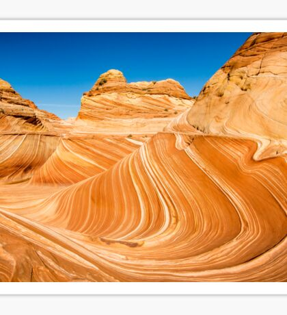 The Wave - Coyote Buttes North Sticker