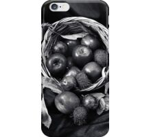 Apple Basket. iPhone Case/Skin