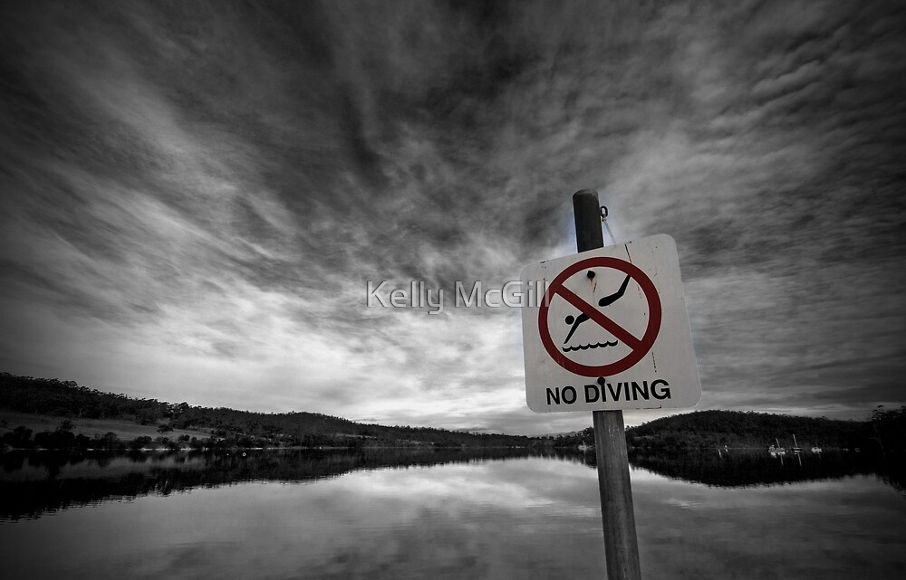 No Diving, OK! by Kelly McGill