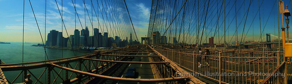 Brooklyn Bridge by spanners79