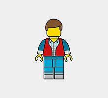 Marty McFly Lego Man by DanielDevoy