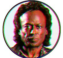 Miles Davis in a funky circuar shape by PolarVeal