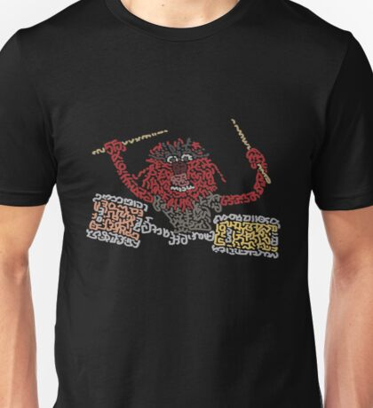 """""""Animal"""" The Crazy Drummer of the Muppet Show Unisex T-Shirt"""