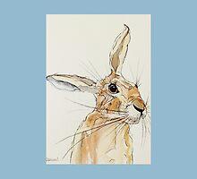 Hop Hare-Ears Listening by lisaaddinsall