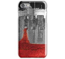 Poppies By Moonlight. iPhone Case/Skin