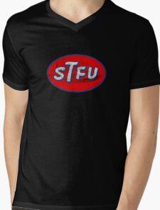 STP STFU Logo Mens V-Neck T-Shirt