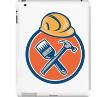 Builder Painter Carpenter Hammer Brush iPad Case/Skin