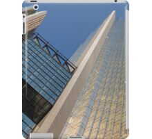 Gold, Black and Blue Geometry - Royal Bank Plaza iPad Case/Skin