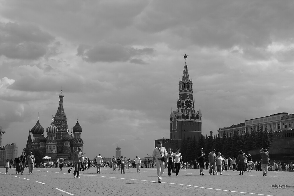 Red Square Moscow  by cboar