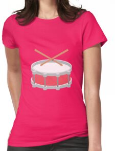 Loud Drums Womens Fitted T-Shirt