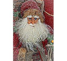 Jolly Olde Saint Nicholas Photographic Print