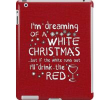 Dreaming Of A White Christmas iPad Case/Skin