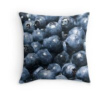 the power of fruit Throw Pillow