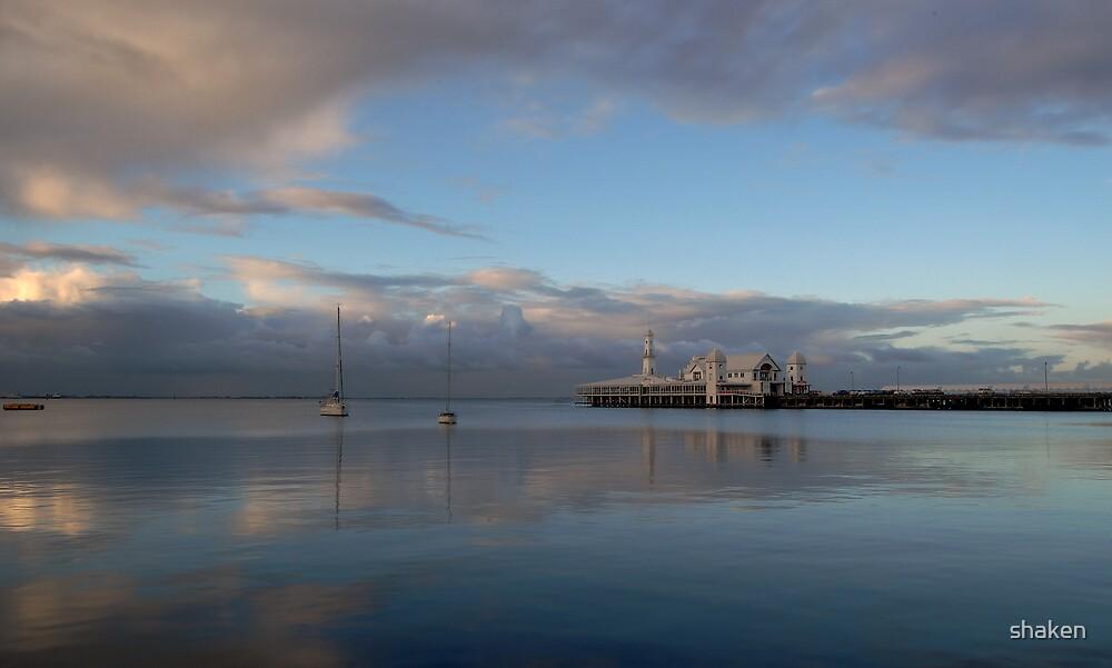 Cunningham Pier at Sunset by shaken