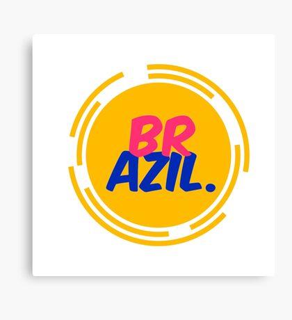 Brazil! Canvas Print