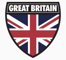 Great Britain Flag and Shield  by sexymoo
