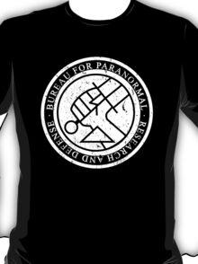BPRD WHITE texture T-Shirt