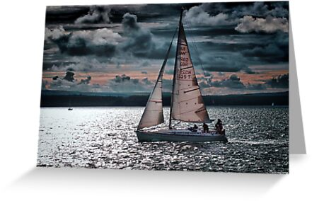 Red Sails In The Sunset by naturelover