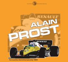 Alain Prost - F1 1983 by Evan DeCiren