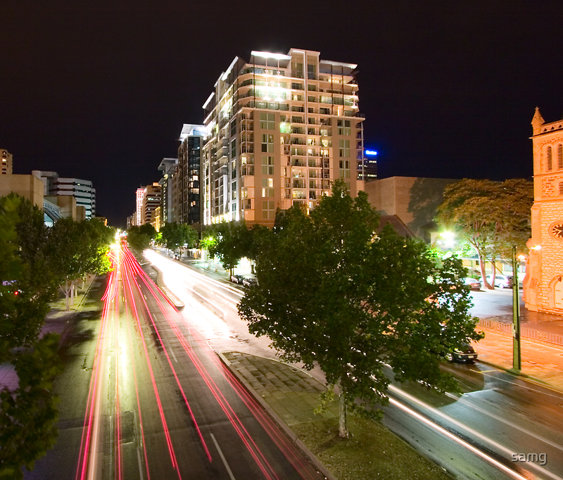 North Terrace by Night I by samg