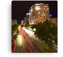 North Terrace by Night II Canvas Print