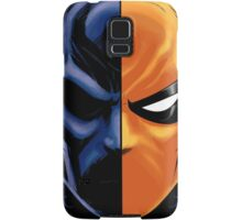 deathstroke mask Samsung Galaxy Case/Skin