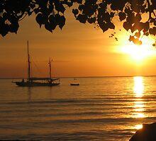 Sunset Lovina I by Arild Helge Olsen