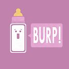 Burp (Girl) by Teo Zirinis